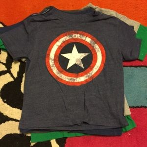 Captain America shield shirt